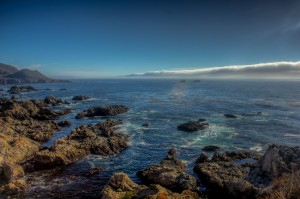 Fog Bank at Big Sur